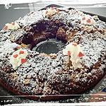 recette couronne orange-chocolat et ses pépites choco
