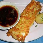 recette Dos de cabillaud a la panure japonaise,sauce pimentée