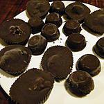 recette Petits chocolats aux pistaches (dans des moules à mini-muffins)