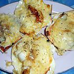 recette Coquilles saint-jacques gratinées au gouda