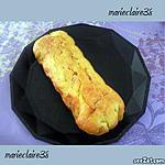 recette cake olives verte lardons, gruyère