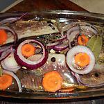 recette Bouffis (harengs salés et fumés) marinés en terrine
