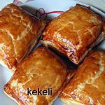 recette Feuilleté au jambon sec et fromage frais