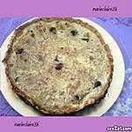 recette quiche thon,mozarelle,olives noire