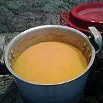 recette potage potiron curry