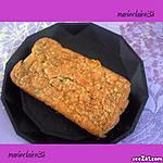 recette cake au roquefort, lardon olives, gruyère