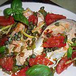recette Darne de saumon sauce aux capres