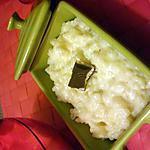recette riz au lait à la crème anglaise