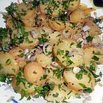 Salade de pommes de terre tiède