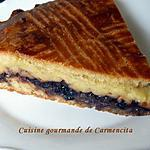 recette Gâteau Basque à la confiture de cerise noire