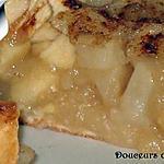 recette Tarte Duo Pommes/poires