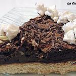 recette Tarte au chocolat noir et  chocolat au quinoa