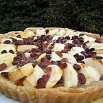 recette Tarte aux pommes rustique sur une pâte semi-feuilletée au cidre
