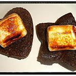 recette barres avoine-nutella et sa guimauve caramélisée