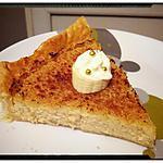 recette tarte  noix de coco caramélisée