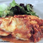recette Oeufs durs en sauce tomate et gratinés d' Italmo