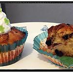 recette mini muffins poire-chocolat et amande