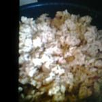 recette poulet riz coco, ananas