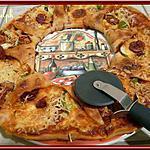 recette Pizza soleil au chorizo