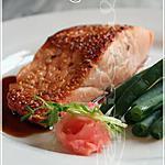 recette ~Saumon teriyaki~