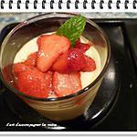 recette Petits pots de mousse choco-fraises