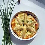 recette Clafoutis aux asperges blanches