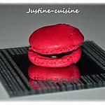recette Macarons ganache chocolat/framboise