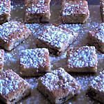 recette Petits pavés moelleux aux noisettes