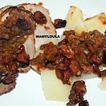recette Roti de porc à la Méditerranéenne en passant par Montbéliard