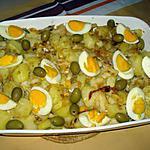 recette Bacalhau à Gomes Sà(Morue à la portugaise)