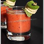 recette Smoothie Kiwis, pommes, banane, fraises, menthe