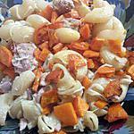 recette Pâtes au thon et carottes