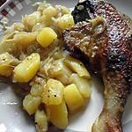 recette magrets (cuisses )de canard flambé a l armagnac de JEAN