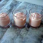 recette Mousse aux fraises TAGAD A