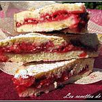 recette Gâteau basque revisité aux framboises