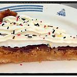 recette tarte sablé frangipane poire pistache chocolat