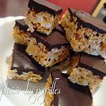 recette ~Barres de corn flakes au chocolat~