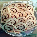 recette Biscuit roulé a la fraise