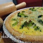 recette ~Quiche au jambon et au brocoli~