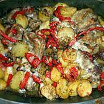 Epigramme d agneau,pommes de terre en gratin