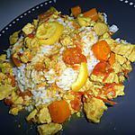 Sauté de poulet au curry et citron