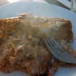 recette Cote de porc gratinée au four sur lit de choux vert