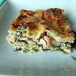 recette Lasagnes saumon épinards ricotta