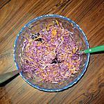 recette Salade de choux rouge