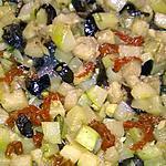 recette courgette olives et tomates sèchées