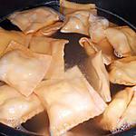 recette RAVIOLI ROUGES (1ère étape)