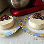 recette Entremet poire caramel beurre salé