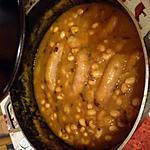 recette haricot nouveau au potiron et saucisse de Toulouse