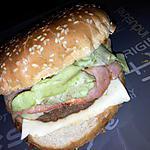 recette Burger bacon fumé raclette