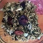 recette riz aux champignons noirs et chorizo